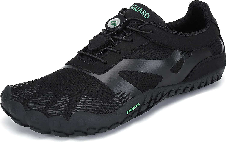 SAGUARO Unisex Zapatillas Barefoot de Trail Running Calzado Minimalista Cómodas Ligeras Zapatos Descalzos