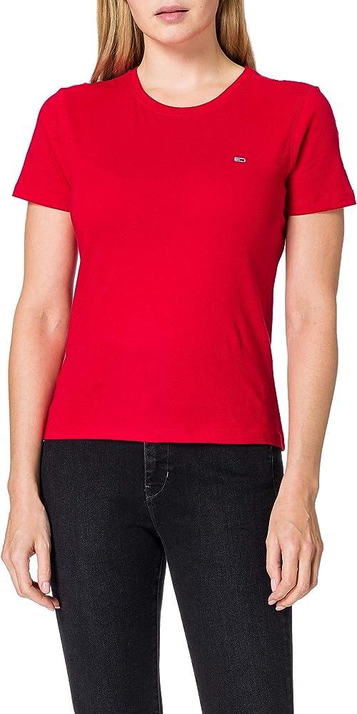 Tommy hilfiger polo maglietta da donna a maniche corte DW0DW06901