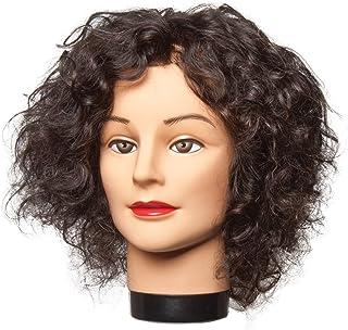 Diane Freida Mannequin Head, 100% Human Hair, 16-18 Inch, Black