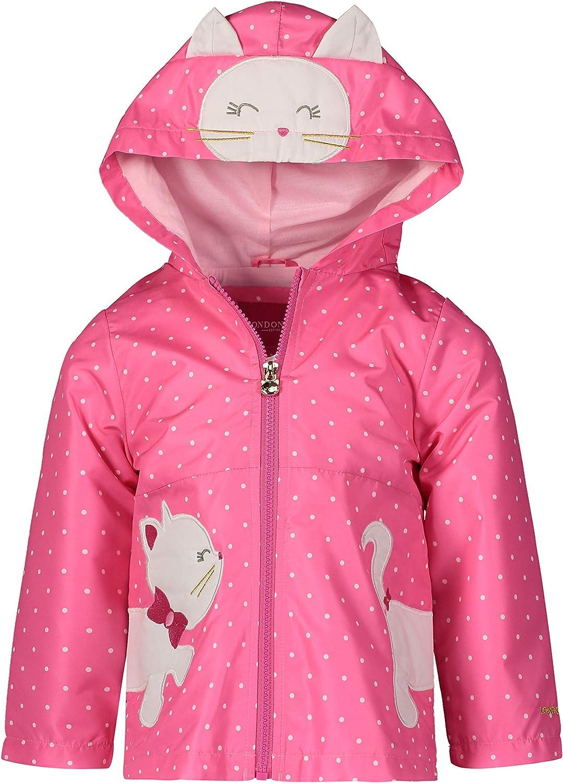 Max 72% OFF LONDON FOG Baby Girls' Midweight Fleece Max 84% OFF Jacket Lined Coat