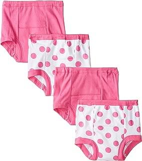 Baby Girls' 4-Pack Training Pant