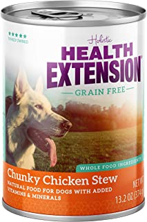 Health Extension Grain Free Chunky Chicken Stew Canned Wet Dog Food - (12) 13.2 Oz Cans