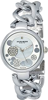 Akribos XXIV Women's Jewelry Chain Link Watch