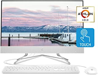 HP 24-inch All-in-One Touchscreen Desktop Computer, AMD Athlon Gold 3150U Processor, 8 GB RAM, 512 GB SSD, Windows 10 Home...