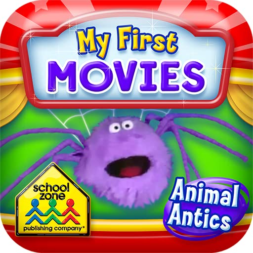 School Zone My First Movies Animal Antics Ages 2 Animal Names Identification Rhyming product image