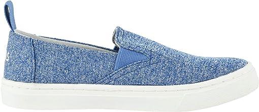 Vallarta Blue Repreve Melange Knit