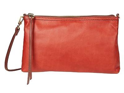 Hobo Darcy (Brick Matte Vintage Hide) Handbags