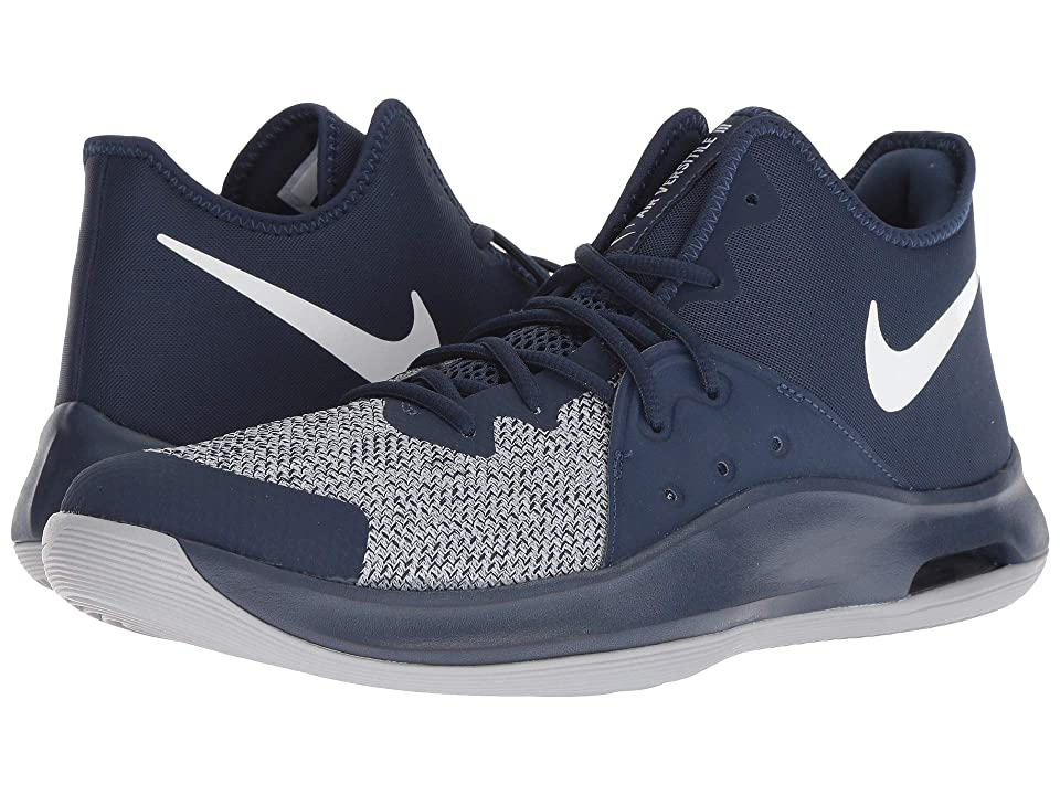 Nike Air Versitile III (Midnight Navy/White/Wolf Grey) Men