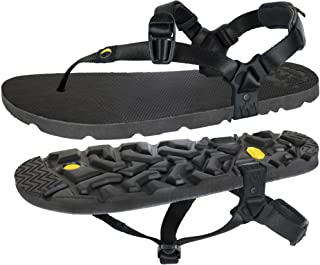 LUNA Sandals MONO Winged Edition | Minimalist Trail Running and Hiking Sandals - Lightweight 5.9 oz Comfortable Barefoot S...