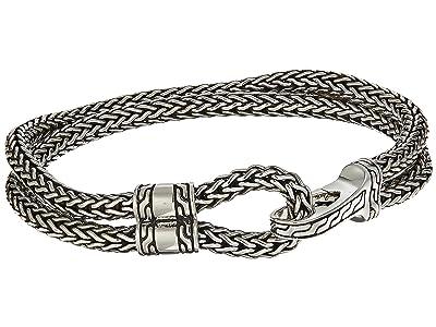 John Hardy Classic Chain Hook Clasp Bracelet (Silver) Bracelet