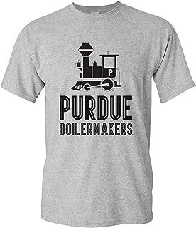 Vintage Purdue Boiler Train T-Shirt, Purdue Vintage Logo