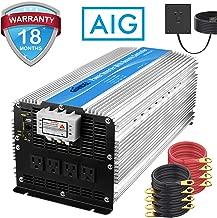 Giandel 5000W Heavy Duty Power Inverter 12V DC to 110V 120V AC with Remote Control and 4..