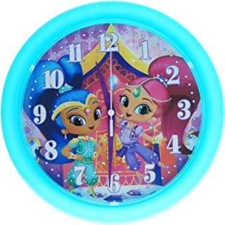 Nickelodeon Shimmer and Shine 10 Inch Wall Clock Girls Home Decor Analog Style