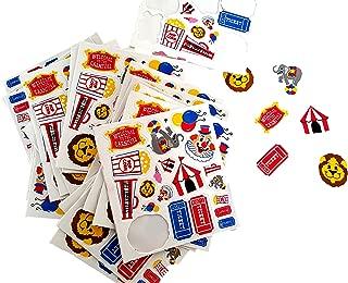 circus animal stickers