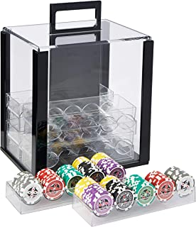 NEW 1000 PC Ace King 14 Gram Suited Clay Poker Chips Bulk Lot Select Your Colors