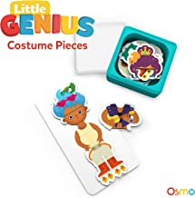 Osmo - Little Genius Costumepiece - Includes 2 Games - Stories & Costume Party - Ages 3-5 - Preschool Ages - Following Along with Stories, Empathy, Critcal Thinking, Fine Motor Skills, & Creativity