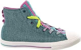 Converse Kid's Chuck Taylor All Star Loopholes Hi Sneaker Shoe - Shadow Teal - Boys - 6