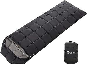 Ubon 32 °F Sleeping Bags for Adult 3 Season Waterproof Camping Sleeping Bag, Lightweight Sleeping Bag with Compression Sack