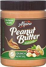 Alpino Natural Peanut Butter Crunch 400g (Unsweetened / Gluten Free / Non-GMO)