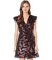 Sleeveless Lurex Jacquard Dress