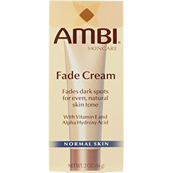 Ambi Fade Cream For Fades Dark Spots For Even, Natural Skin Tone, 2 oz