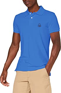 United Colors of Benetton Polo Slim Manica Corta Hombre