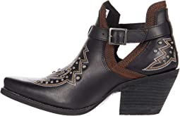 """Crush 6"""" Bootie w/ Embroidery & Belt"""
