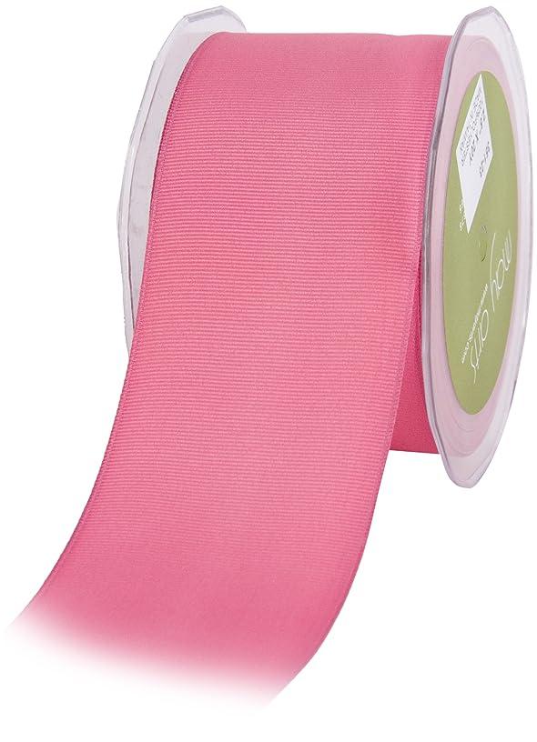 May Arts 2-1/2-Inch Wide Ribbon, Hot Pink Grosgrain