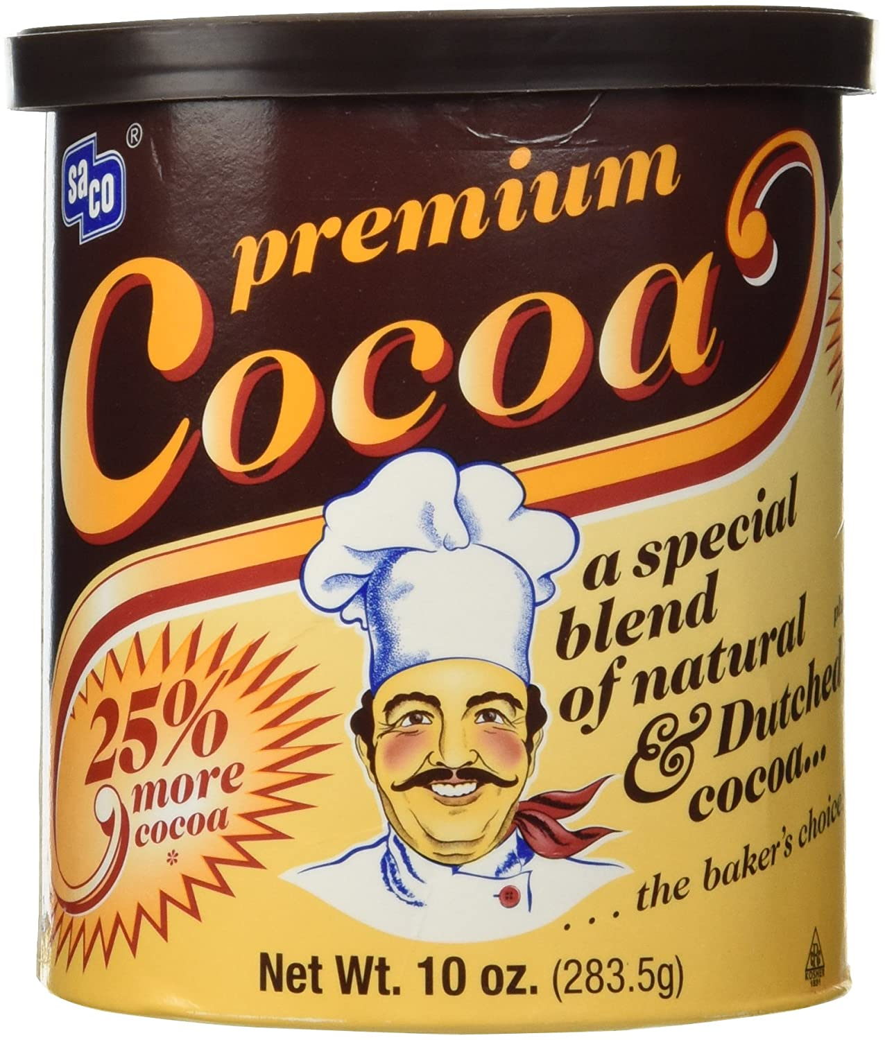 Sales results No. 1 Saco Sale item Premium Baking Canister Cocoa 10-ounce