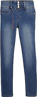 Girls' Jeggings - High Waisted Super Stretch Denim Jeans