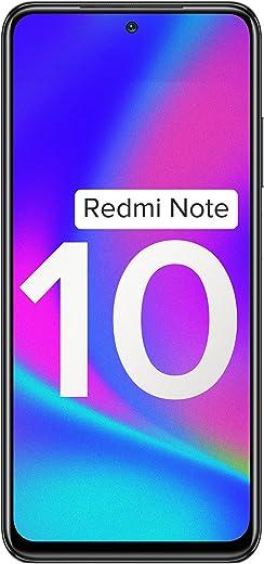 Redmi Note 10 (Shadow Black, 4GB RAM, 64GB Storage) - Amoled Dot Display | 48MP Sony Sensor IMX582 | Snapdragon 678 Processor 1