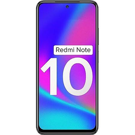 Redmi Note 10 (Shadow Black, 4GB RAM, 64GB Storage) - Amoled Dot Display | 48MP Sony Sensor IMX582 | Snapdragon 678 Processor