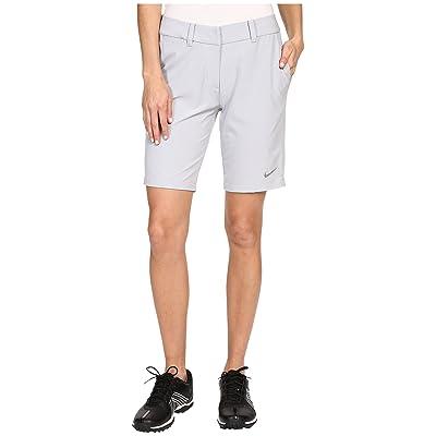 Nike Golf Bermuda Shorts Solid (Wolf Grey/Metallic Silver) Women