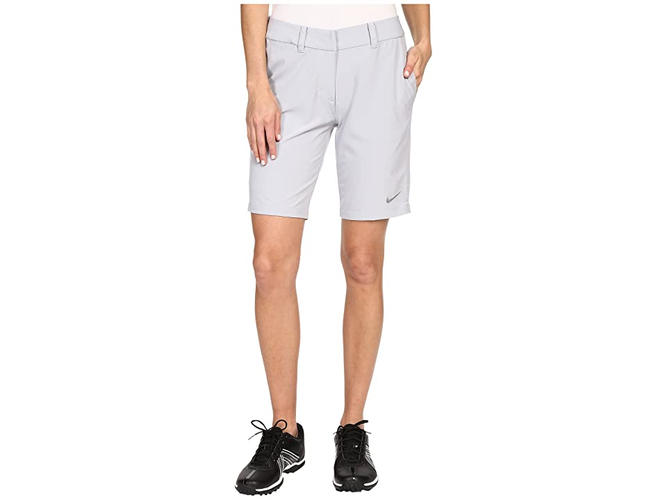 Nike Golf Bermuda Shorts Solid (Wolf Grey/Metallic Silver) Women