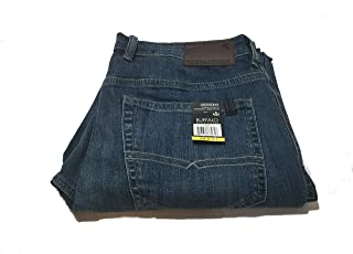 Mens Jackson-X Straight Stretch Jeans, Variety (32x30, Blue)