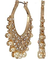 Marchesa - Filagree Click Hoop Earrings