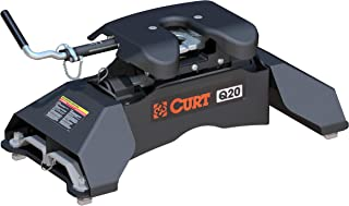 CURT 16035 Q20 5th Wheel Hitch for Ford Puck System, 20,000 lbs