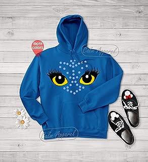 Avatar Shirt, Women's Graphic Hoodie, Winter Vacation Shirt, Casual Long Sleeve T shirt, Autumn Sweatshirt, Vacation Outfits
