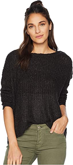 Level Up Buttoned Drop Shoulder Sweater