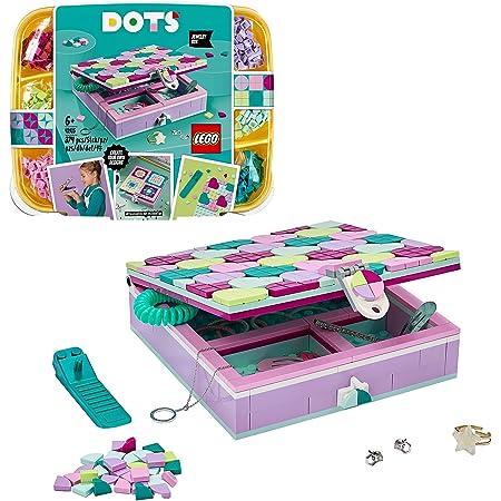 LEGO Dots 41915 La Boîte à Bijoux, Loisirs Créatifs et Bricolage, Décoration Personnalisable pour Chambre et Bureau pour Enfant