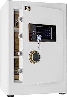 TIGERKING Security Home Safe, Digital Safe Box- 2.05 Cubic Feet, White