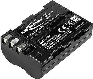 ANSMANN Li Ion Akku A Nik EN EL 3e 7 4V / Typ 1400mAh / Leistungsstarke Akkubatterie für Foto Digitalkameras   der perfekte Ersatzakku für Nikon Digicam uvm.