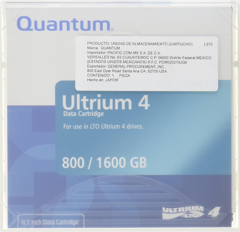 QUANTUM LTO-4 MR-L4MQN-01 Ultrium-4 Data Tape 1 In We OFFer at cheap prices stock Cartridge 800GB