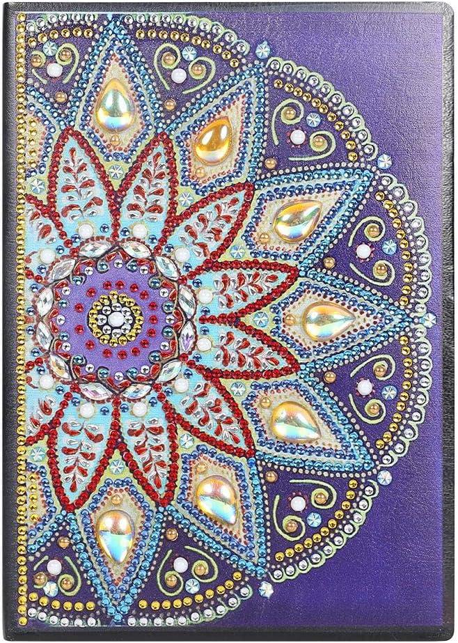 DIY 5D Diamond Painting Washington Mall Cover Shaped Notebook Mandala Special online shopping Di