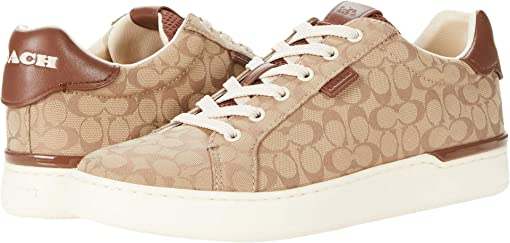 COACH Lowline Low Top,Stone