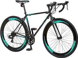【組立必要商品】NEXTYLE(ネクスタイル) 700Cロードバイク クロモリフレーム シマノ14段変速 デュアルコントロールレバー採用 ZNX-7014 25569