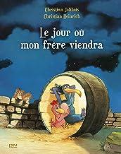 Les P'tites Poules - Le jour où mon frère viendra (Pocket Jeunesse t. 3) (French Edition)