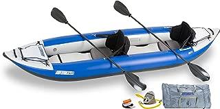 Sea Eagle Inflatable 380X Explorer Kayak Pro Carbon Package