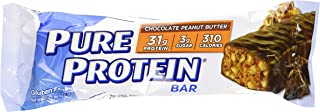 Worldwide Sports Nutrition Pure Protein Bar Chocolate Peanut Butter - 12 Bars