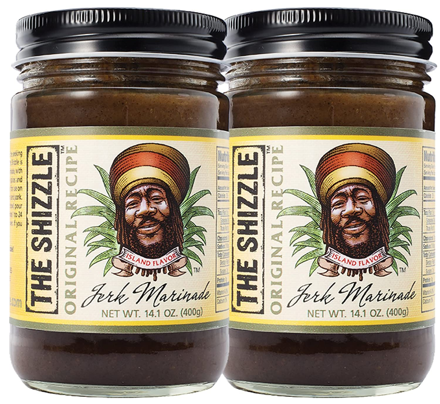 The Shizzle Superior Original Jerk Marinade Ranking integrated 1st place Two Ja 14 Pack Ounce –